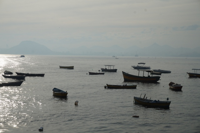 Fisherman's boats in the Rio marina.